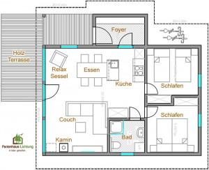 FerienhausLichtung-Grundriss-4Personen+Kamin-Web