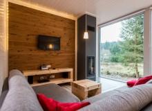 Modernes Chalet in den Bergen mit neuster Innenaustattung