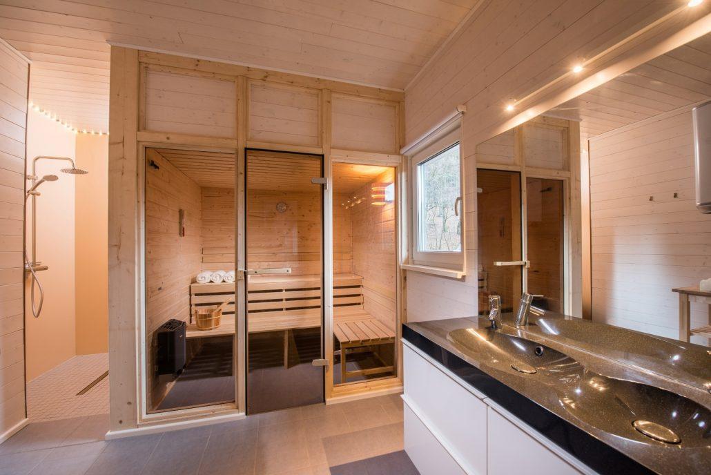 Fabulous 4 Personen + Sauna | Ferienhaus Lichtung XL69