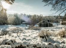 Klare Wintersonne im Urlaub
