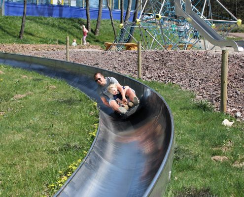 Sommerrodelbahn im Inselsberg Funpark