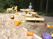 Wasserspielplatz im Ferienhauspark